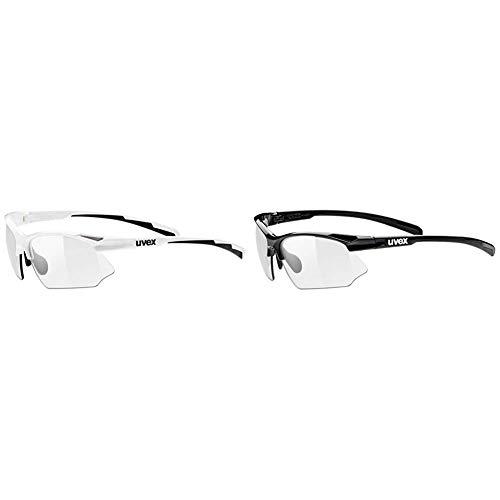 uvex Unisex – Erwachsene, sportstyle 802 v Sportbrille