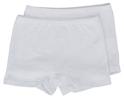 Cotton Fitted Boxer Shorts (Bravely Free Little Girls Boxer Briefs Cotton Spandex (Small 4/5))