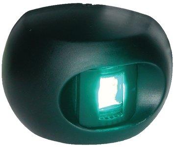 Light 2 Mile Vertical Mount - Aqua Signal LED Starboard Green Navigation Light Vertical Mount (2 mile)