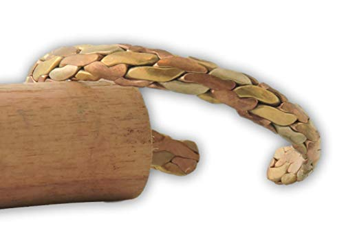 (Handmade Tibetan Three Metal Medicine Bracelet from Nepal (S11))
