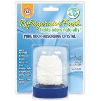 Odor Absorbing Crystal - Refrigerator Fresh Pure Odor Absorbing Crystal, 1.75 Oz by FunFresh Foods (Pack of 3)