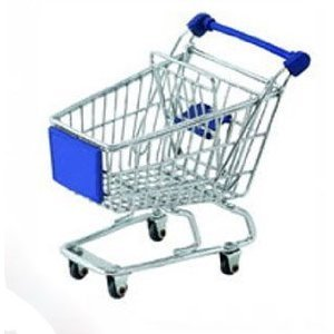 Lowpricenice Mini Shopping Cart - Blue