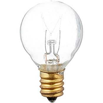 Sival Clear Globe String Lights Set Of 25 G40 Bulbs