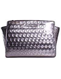 Michael Kors Gunmetal Handbag - 6