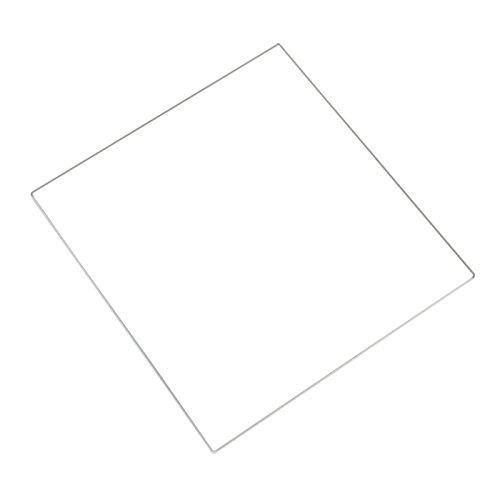 Signstek Verre Borosilicate pour Heatbed MK2 MK3 d'Imprimante 3D, Taille de 213*200*3mm