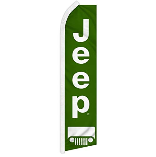 Jeep Super Flag 5 Hardware Not Include-FI