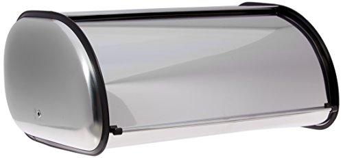 Home-it Stainless Steel Bread Box for kitchen, bread bin, bread storage 16.5x10x8