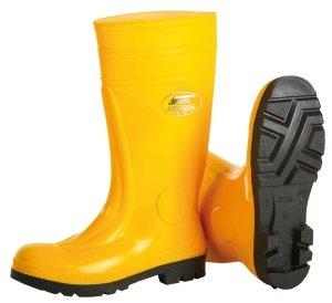Safety S5Bottes de Sécurité PVC, jaune, sans phtalates en 345g, 43