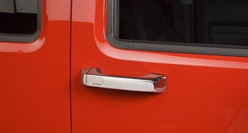 hummer h3 door handle chrome - 7