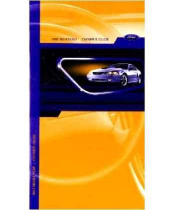 amazon com 2002 ford mustang owners manual user guide everything rh amazon com 2002 ford mustang owner's manual online 2004 ford mustang owners manual pdf