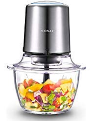 Electric Food Processor, MOSAIC Stainless Steel...