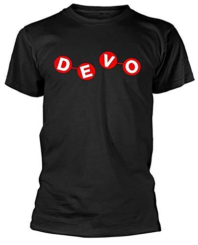 TopTeam Devo 'Atomic Logo' T-Shirt Inspired Funny Gifts Black