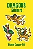 img - for By Dianne Gaspas-Ettl Dragons Stickers (Dover Stickers) (Misc. Supplies) February 16, 1996 book / textbook / text book