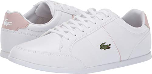 Lacoste Women's Seforra 119 1 P CFA White/Light Pink 7 M US