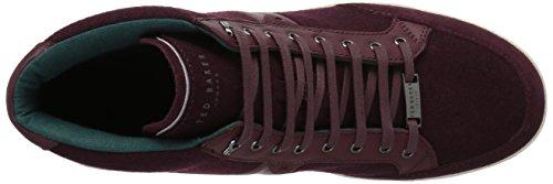 Ted Baker Heren Miykal Sneaker Donkerrood