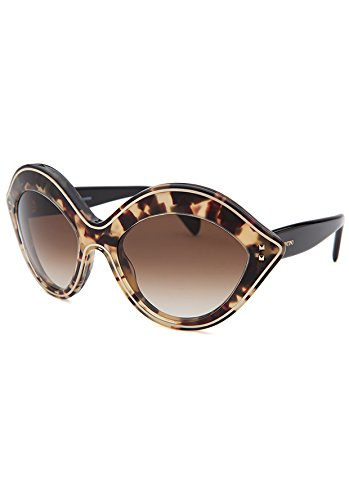 Valentino V689/S 200 Vintage Tortoise Oval - Sunglasses Vintage Valentino