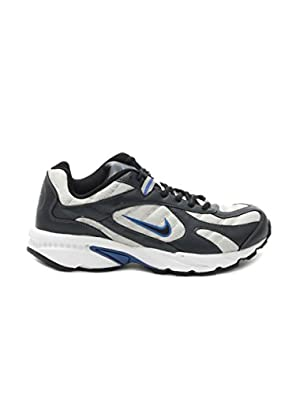 Nike 2.04 In Silver and Black Shoes, 6