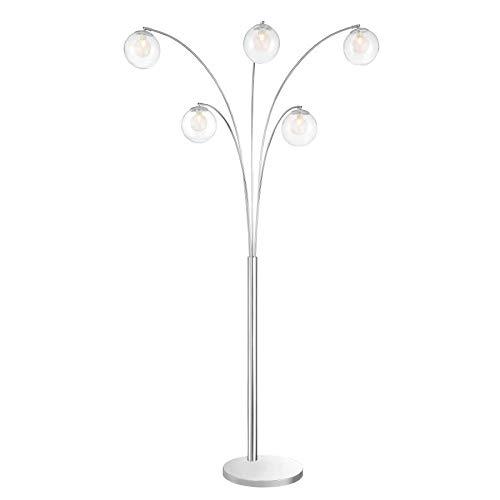 Lite Source Chrome Halogen Floor Lamp - 5