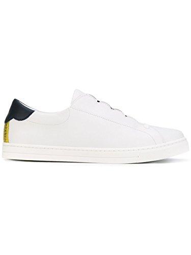 Fendi Sneakers Donna 8E65923S0F09IP Pelle Bianco