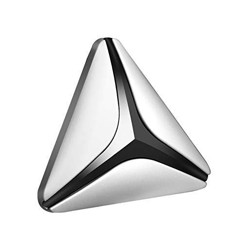 (Super Gorgeous Car Aromatherapy Essential Oil Diffuser Air Fresh Diffuser Cool Triangle Decoration Designed for Cars)