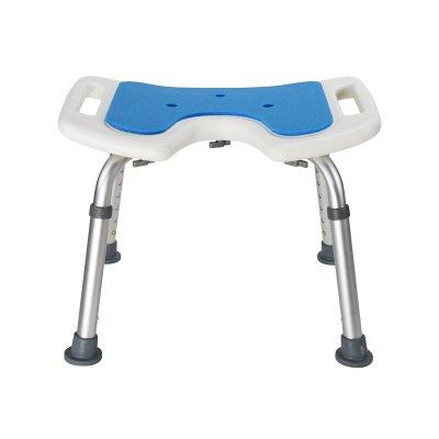 シャワースツール\\シャワーチェア バスルームスツールアルミシャワーチェア障害援助ノンスリップバスチェア、高齢者、身体障害者、妊婦、高さ調節可能 バスシートベンチ\\バススツール (色 : B) B07DXN77KQ B B