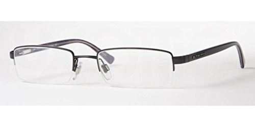 Burberry BE1012 Eyeglasses-1001 Black/Blue - Burberry Warranty