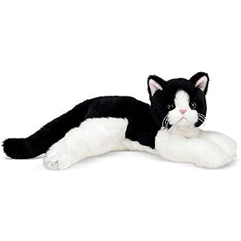 Amazon Com Webkinz Signature Small Tuxedo Cat Toys Amp Games