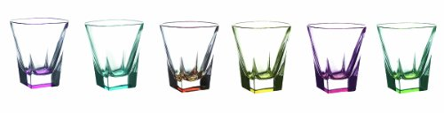 Fusion Crystal Multicolor Shot Glass -