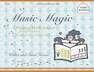 Noona Comprehensive Music Magic Piano Library Playing with Sound Activity Workbook Primer Level-Intro to Staff, 40/1022H (Primer Workbook)
