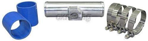 2.5 Polished Aluminum MAP Sensor Pipe For Audi Scion VW Civic