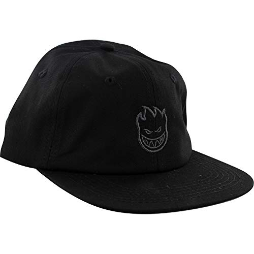 Spitfire Wheels Lil Bighead Swirl Black/Grey Strapback Hat - Adjustable -