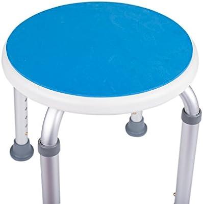 Amazon.com: Medokare Padded Round Shower Stool - Shower Seat ...