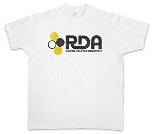 RDA RESSOURCES DEVELOPMENT ADMINISTRATION T-SHIRT ?Avatar Company Firma ICA Interplanetary Alpha Commerce Administration Centauri Größen S