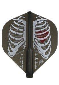 Juggler Skeleton 2 Black - Limited Edition Fit Flight (Standard) by NineDartOut.us