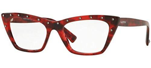 Valentino Optical Frames - Eyeglasses Valentino VA 3031 5020 RED HAVANA