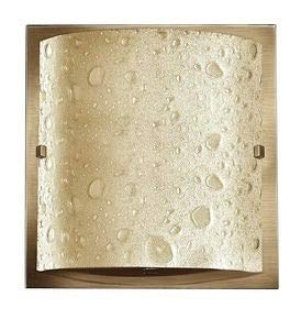 (Hinkley 5920BR Art Glass One Light Bath from Daphne collection in Bronze/Darkfinish,)