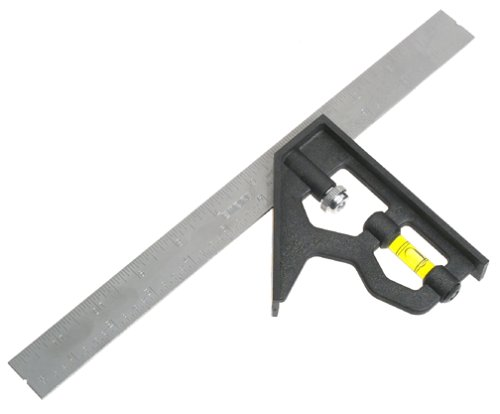 Empire Level 220 12-Inch POLYSTEELTM Combination Square