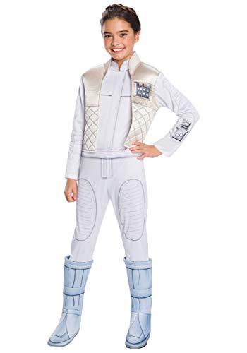 Rubie's Girls Star Wars: Forces Of Destiny Deluxe Princess Leia Organa Costume, Medium
