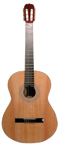 Main Street Guitars MAC39 39-Inch Classical Guitar with N...