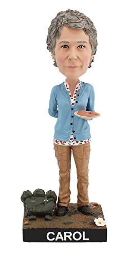 (Royal Bobbles The Walking Dead Carol Collectible Bobblehead Figure)