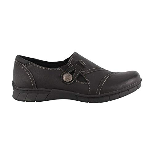 Earth Shoes Brand - Earth Origins Women's, Norah Slip on Shoe Black 9 M