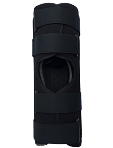 "Alpha Medical 12"" Long Three Panel Knee & Leg Immobilizer..."