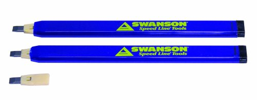 Swanson Tool CP216 AlwaysSharp Refillable Carpenter Pencils