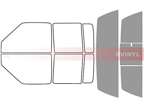 Rtint Window Tint Kit for GMC Sonoma 2001-2004 (4 Door) - Rear Windshield Kit - 50%
