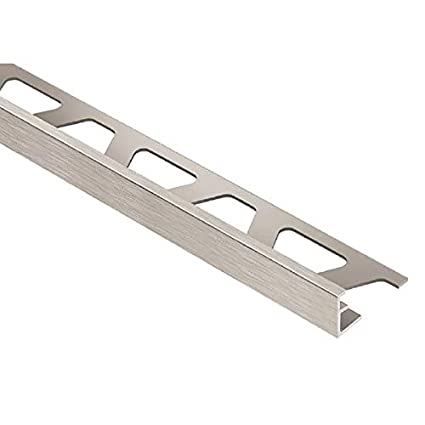 Schluter Jolly Anodized Aluminum Tile Edging Trim (1/2