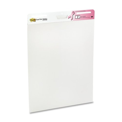3M Easel Pad, Super Sticky, 30 Sheets/Pad, White (MMM5592...