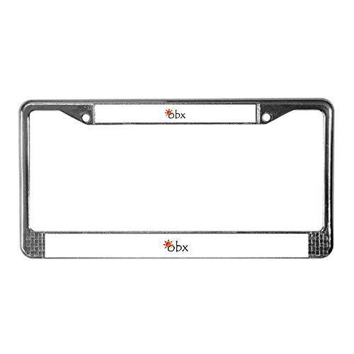 Cafepress   Outer Banks   Chrome License Plate Frame  License Tag Holder