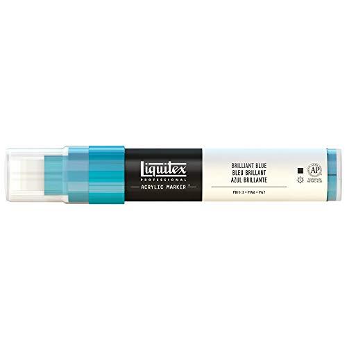 Liquitex Professional Wide Paint Marker, Brilliant Blue