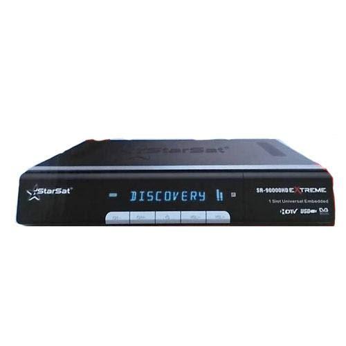 Starsat Wifi,3G,IPTV, HD Satellite Receiver (Model SR-2000HD Extreme)