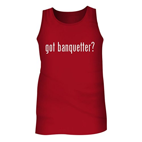 Tracy Gifts Got banquetter? - Men's Adult Tank Top, Red, Small (Banquette Seating For Dining Room Small)